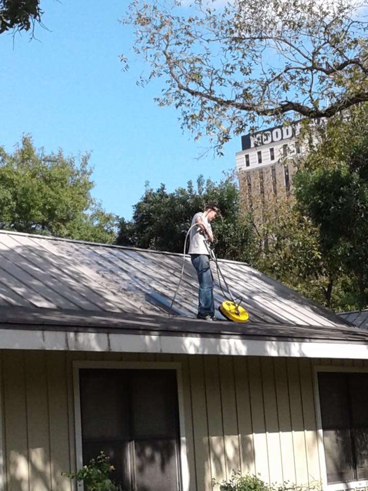Roof Washing Austin Texas