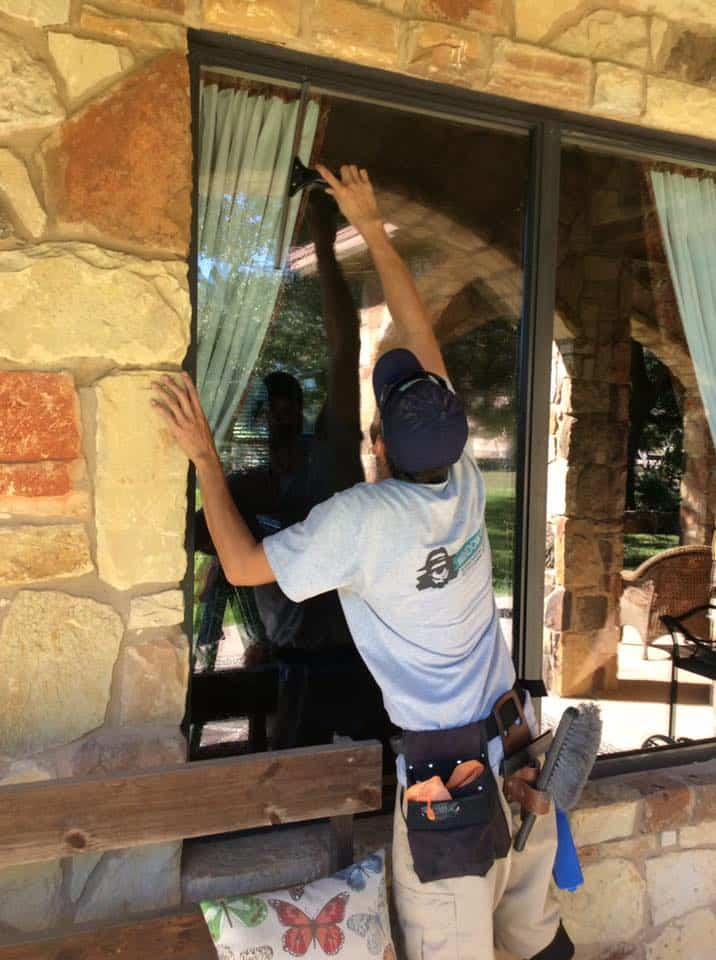 Window cleaning professionals window gang austin texas for Window washing austin